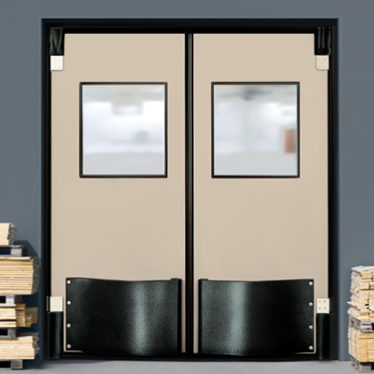 Double Acting Impact Doors
