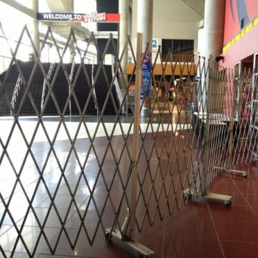 Steel Security Scissor Gate